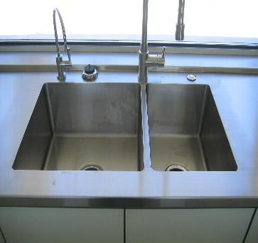 Coved Sink